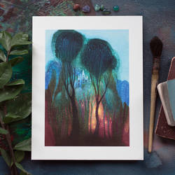 Castle in the Trees prints