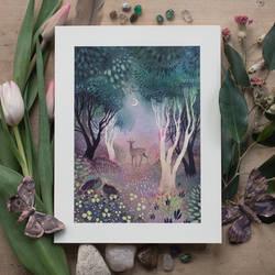 Midsummer Night art prints