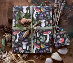 Forest wrapping paper
