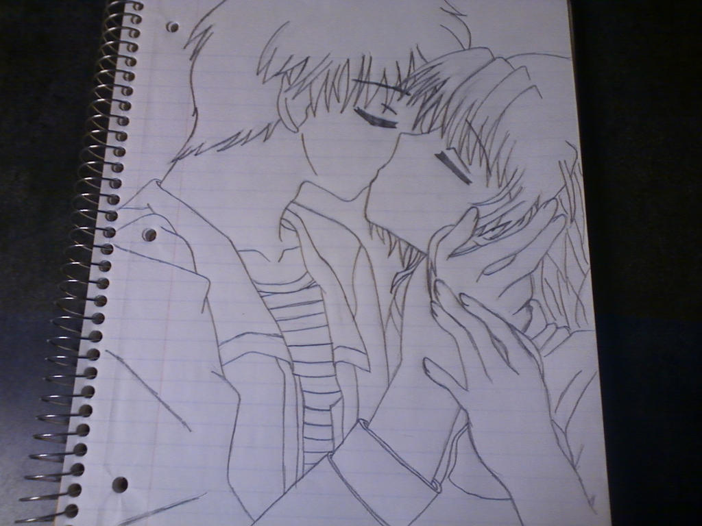 Uncategorized How To Draw Anime Kiss anime couple kissing outline by stardust987 on deviantart stardust987