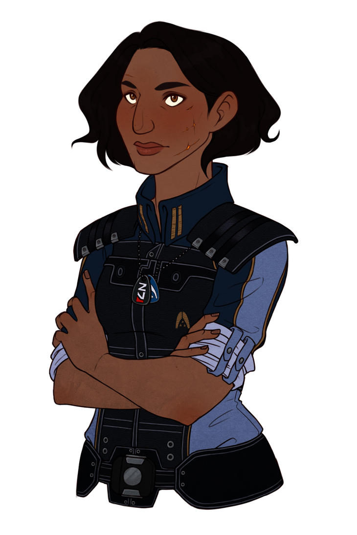 [ME] Rani Shepard by hes-per-ides