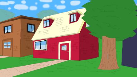 Bizarre House by TheArtisticApe