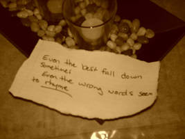 Even the best fall down...