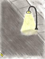 Streetlight at Night
