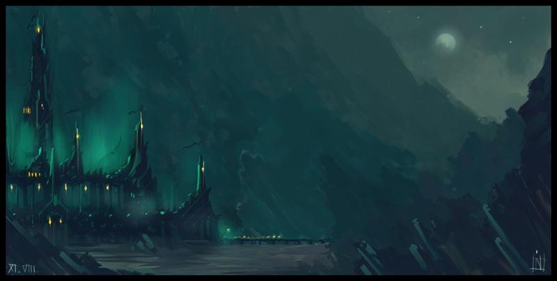 Minas Morgul by MagusVerus