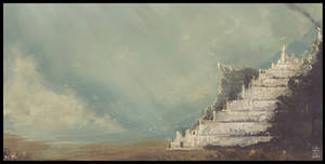 Minas Tirith by MagusVerus