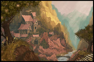 Rivendell by MagusVerus