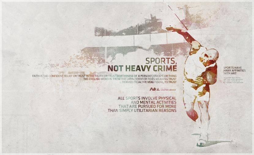 SPORTS NOT HEAVY CRIME 2