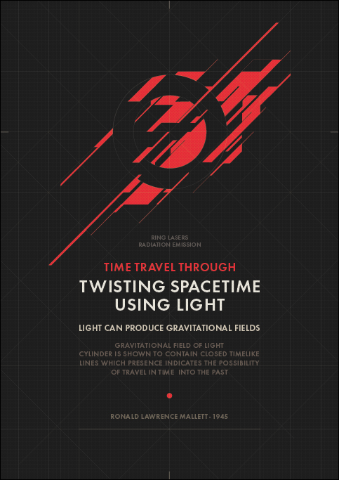 TWISTING SPACETIME by Metric72
