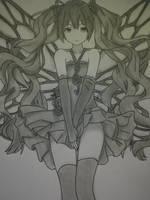 Hatsune Miku by LutviTheSquirrel