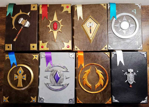 Complete Libram collection inspired by WoW Paladin