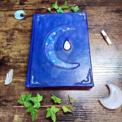 handmade blank book by Lunaecraft