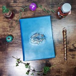 Forest dragon handmade notebook by Lunaecraft