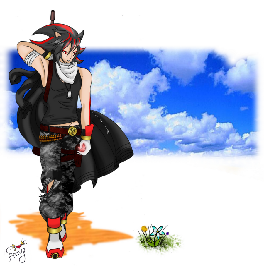 Personification::. Shadow the Hedgehog by Emy-san on DeviantArt