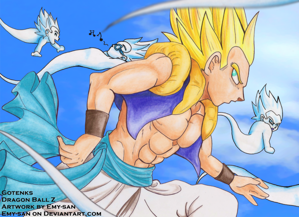 Gotenks- Ghosts Attack! by Emy-san