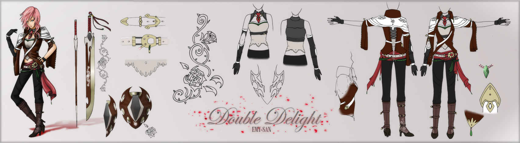 .:Double Delight:. Lightning Returns contest entry by Emy-san