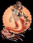 = ADOPT= Lion fish mermaid [ O P E N ]