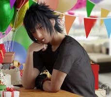Happy birthday Noct! by Emy-san