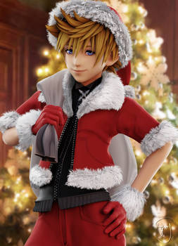 Oh, Santa's coming for us ~