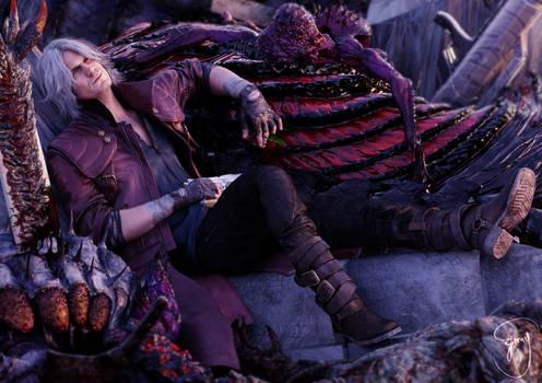 Dante, the legendary devil hunter.