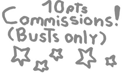 10 pts bust commissions!  (CLOSED)