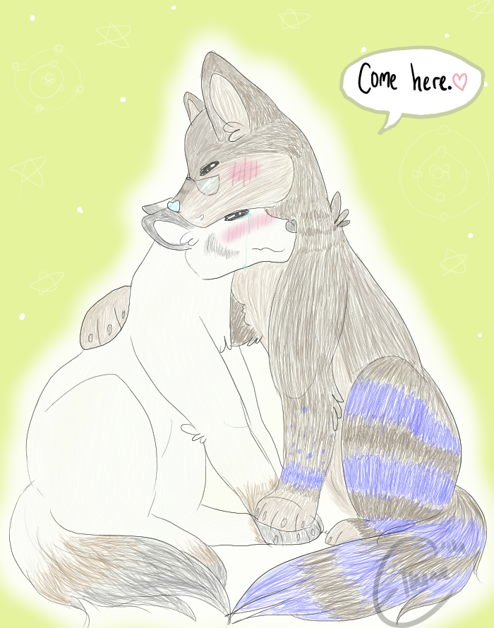 comfort me and hug me you- by TimeForLols