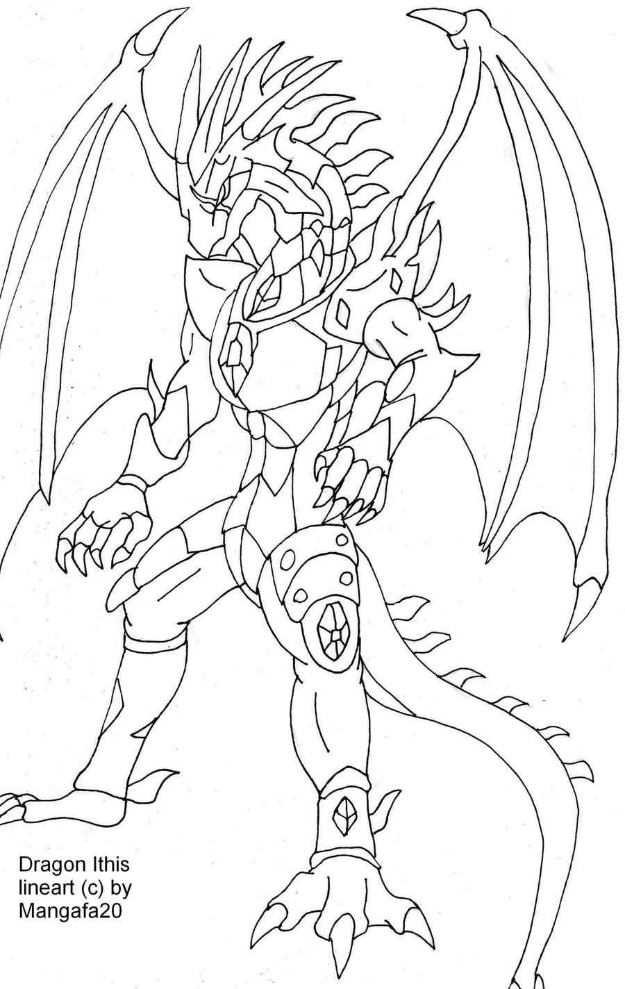 Image Result For Bakugan Drago Coloring