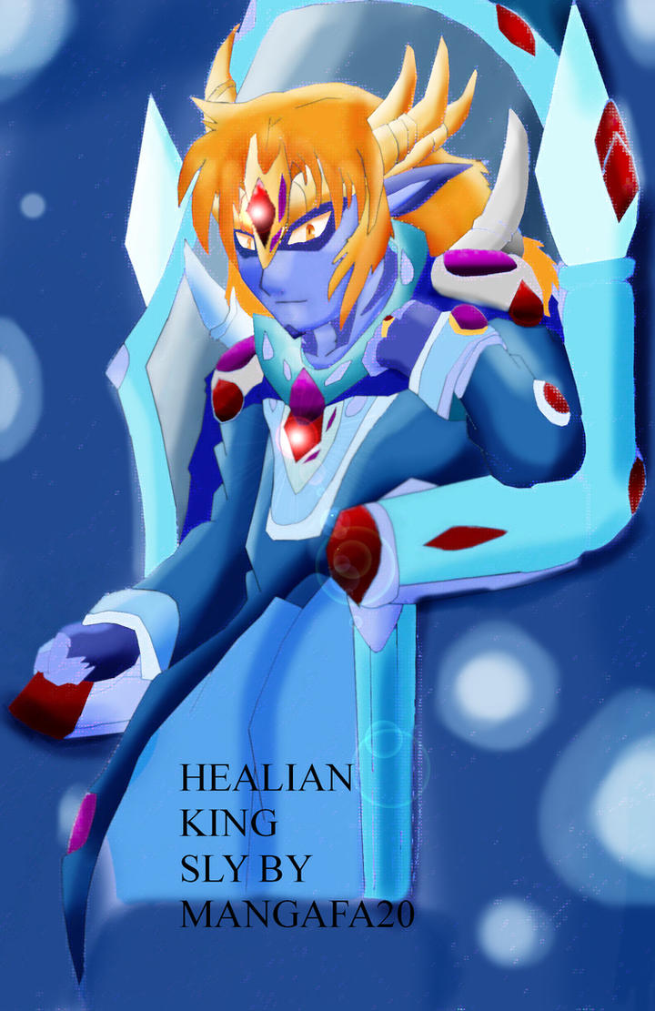 Healian king Sly by mangafa20