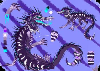 Alligator/Dragon adoptable (Auction,CLOSED) by SeamairWolf