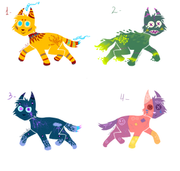 Canine adoptables auction  (OPEN) by SeamairWolf