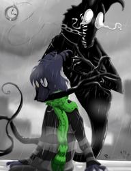 Shadows will scream that I'm alone (redraw) by SeamairWolf