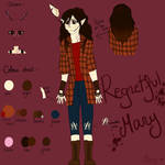 ~*Regretful Mary (CP OC Reference Sheet)*~ by LadyMaliah