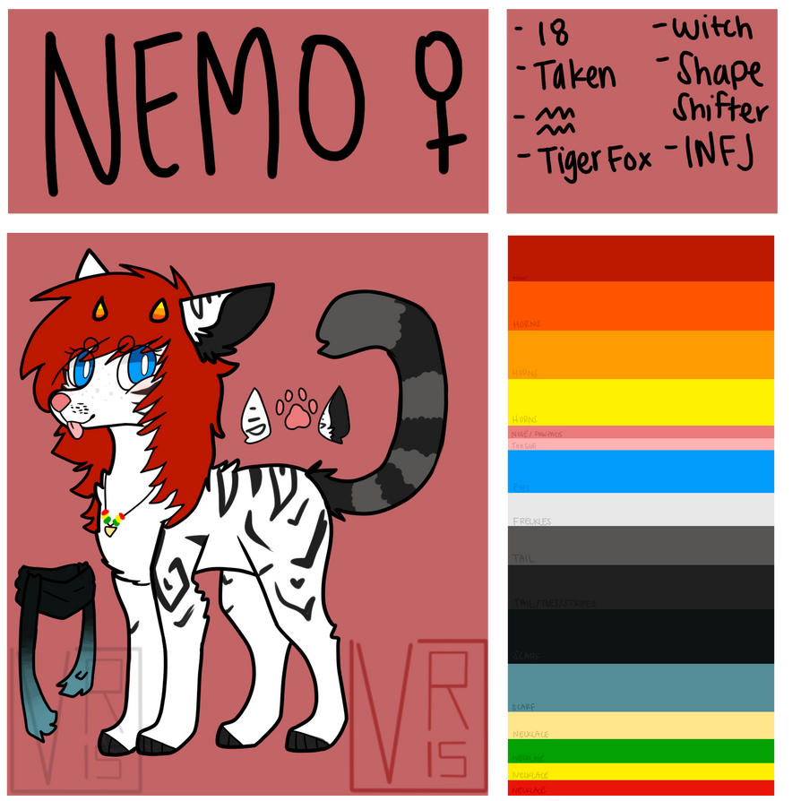 Nemo Reference 2015 by batskies