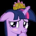 Flattered Princess Twilight Sparkle
