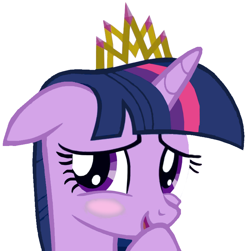 Flattered Princess Twilight Sparkle by sovietlil