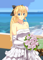 Lilly Satou wedding by ComradeMakarov