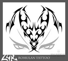 Romulan Tattoo by rehsurc