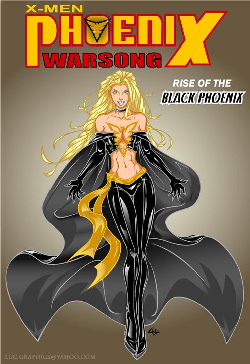 Black Phoenix by rehsurc