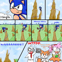 OMG SONIC CD BLOOPER by taeshilh