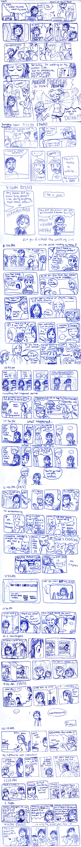 2009 Diary Comic - May. by taeshilh