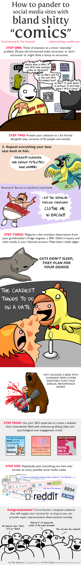 How to Pander Like The Oatmeal by taeshilh