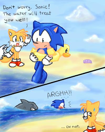 Beach unluckiness.