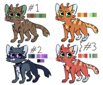 Adoptables- 50 points (CLOSED)