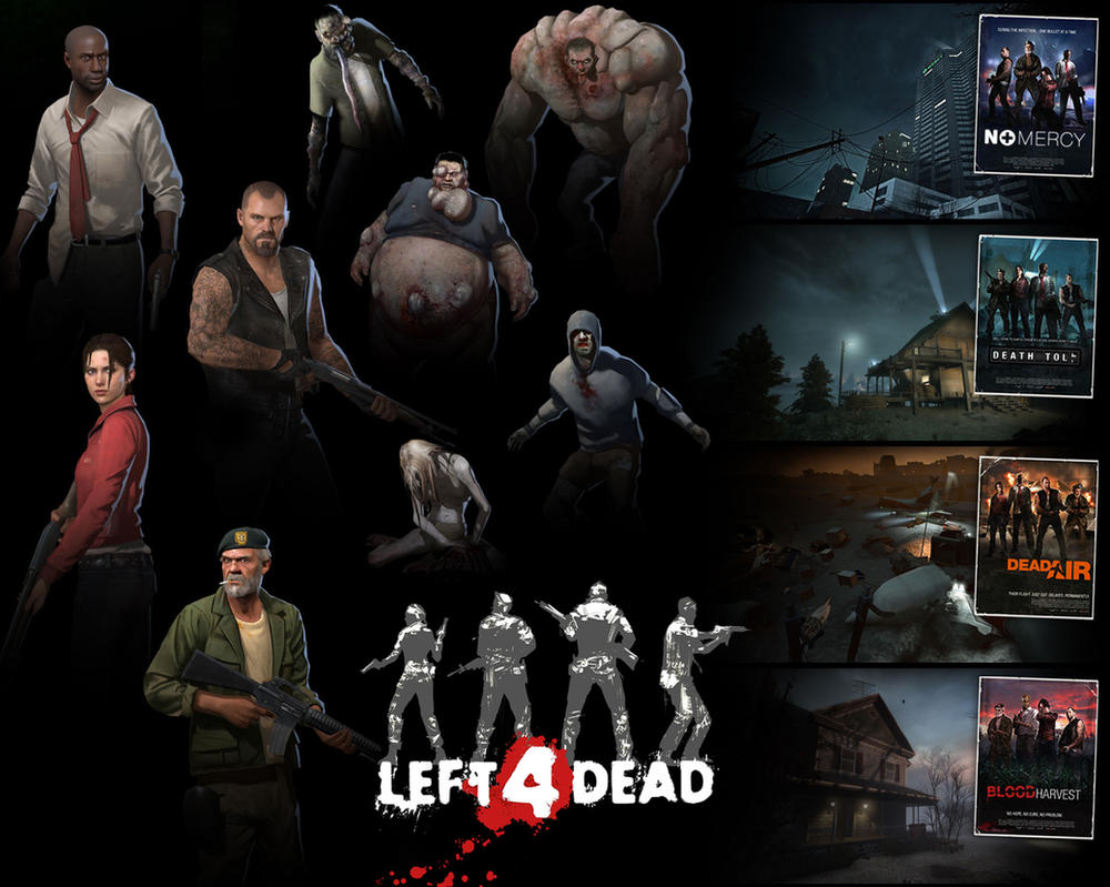 Left 4 dead full pc game multiplayer is a cooperative first-person shooter arcade-style video game
