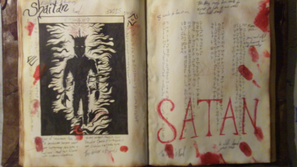 Evil Dead 2013 Book page 8 by Hatter10-7 ...