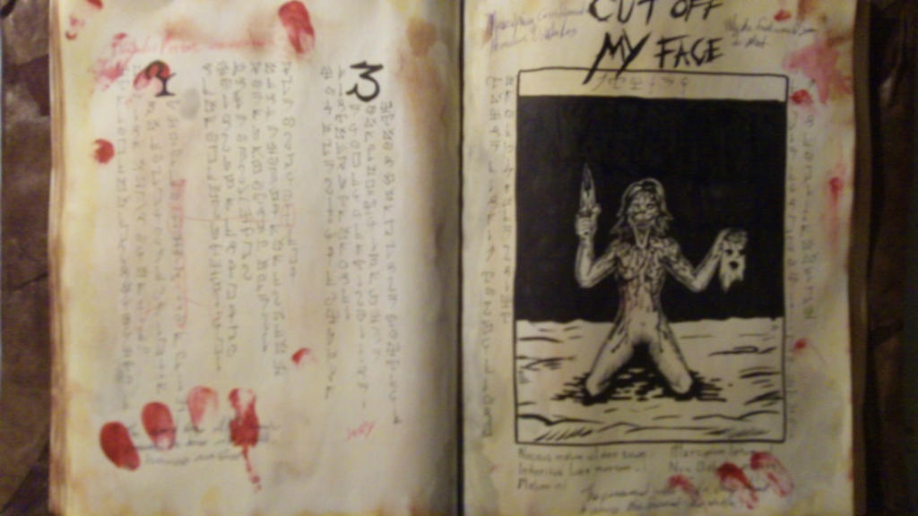 Evil Dead 2013 Book Page 11 by Hatter10-7 ...