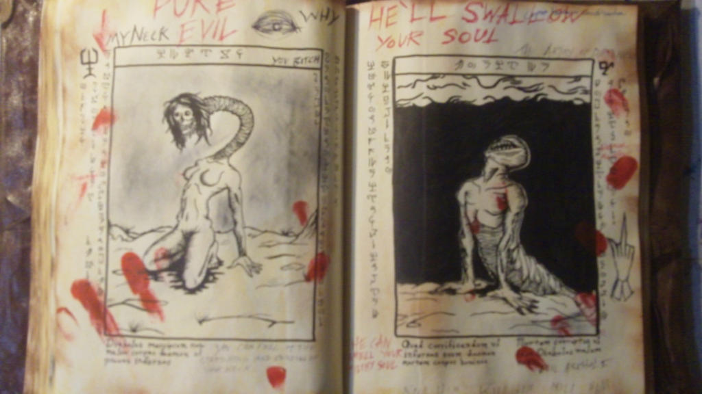 Evil Dead 2013 Book Page 17 by Hatter10-7 ...