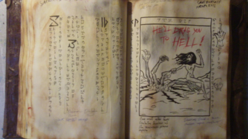 book of the dead pages part 3