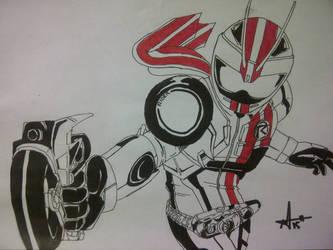 Kamen Rider Mach by annasbagas