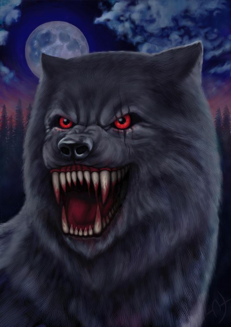 Demonic Wolf by 1Enary1